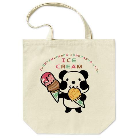 キャラT50 ズレぱんだちゃん *アイスを食べようA *トートバッグ