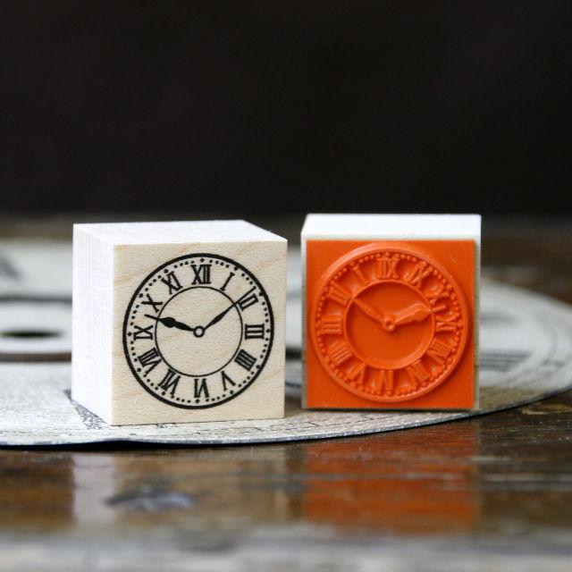 スタンプ - 時計文字盤 ローマ数字 - 金星灯百貨店