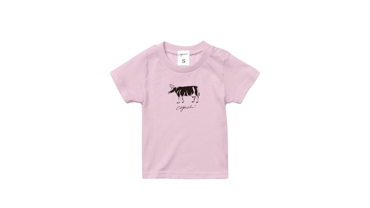coguchi cow kids Tshirt (PK) 90cm