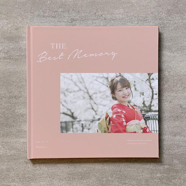 Simple pink-成人式_B5スクエア_6ページ/6カット_フォトブック