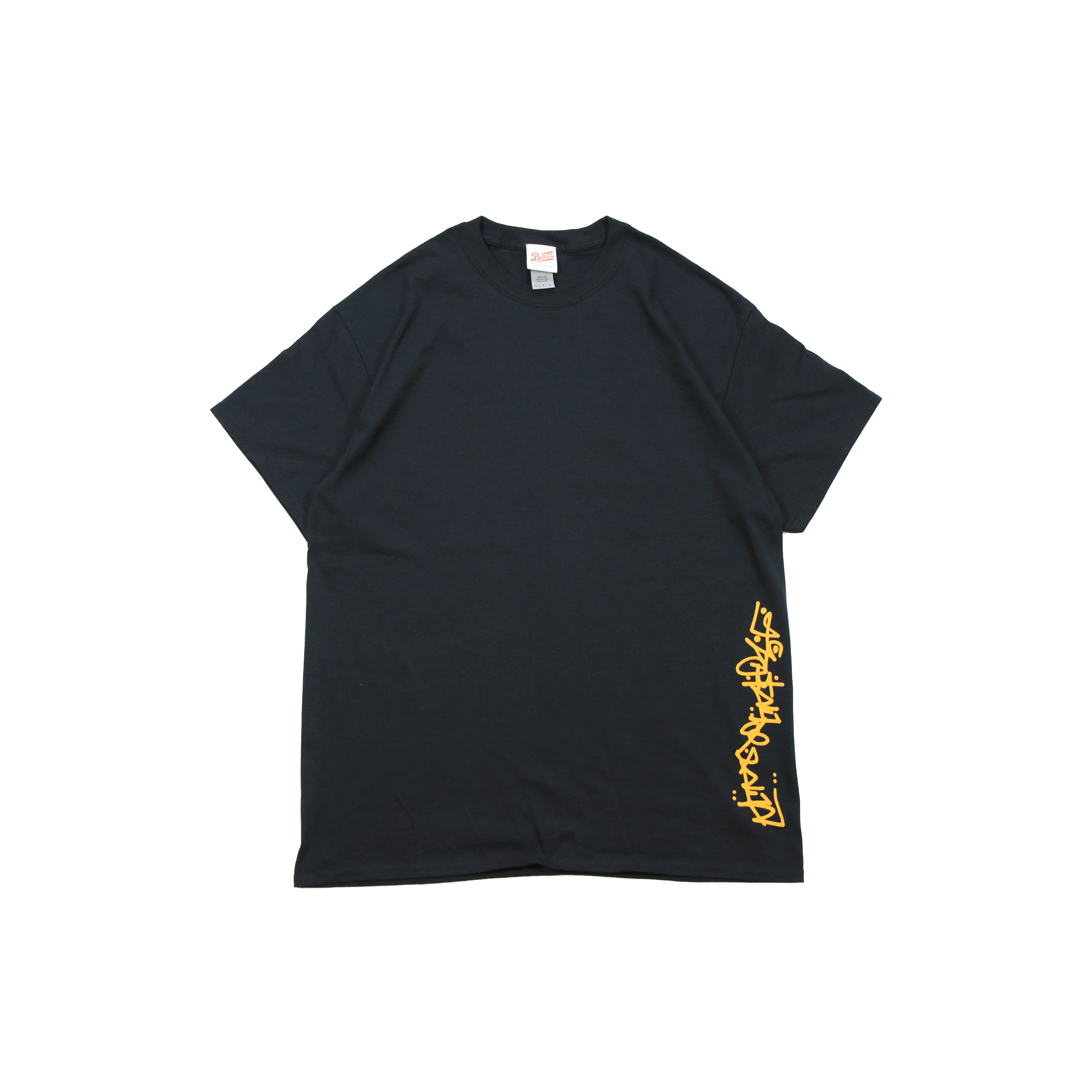 LIVING MADE SLIDER by IRA TEE [BLACK/YELLOW]