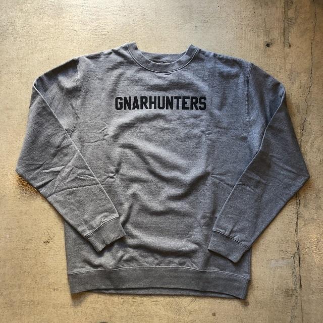 GNARHUNTERS #College Crew Gray