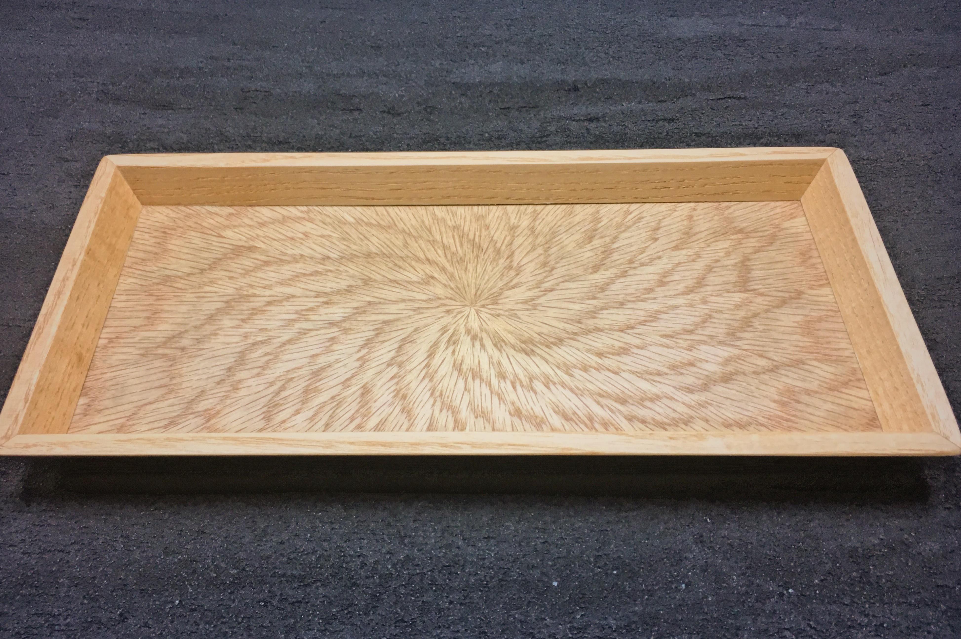 ナラ 光線貼り mini tray 0094