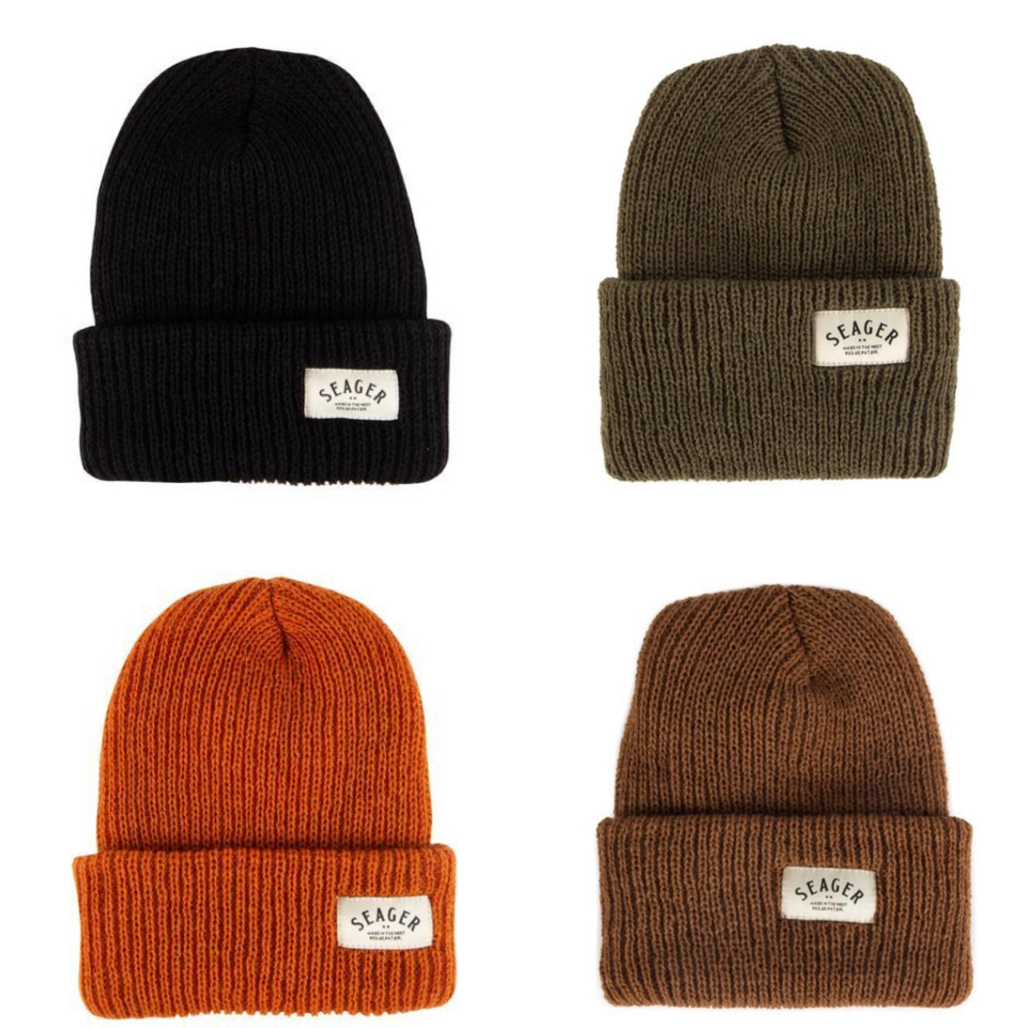 SEAGER #Service Beanie - 4 Colors