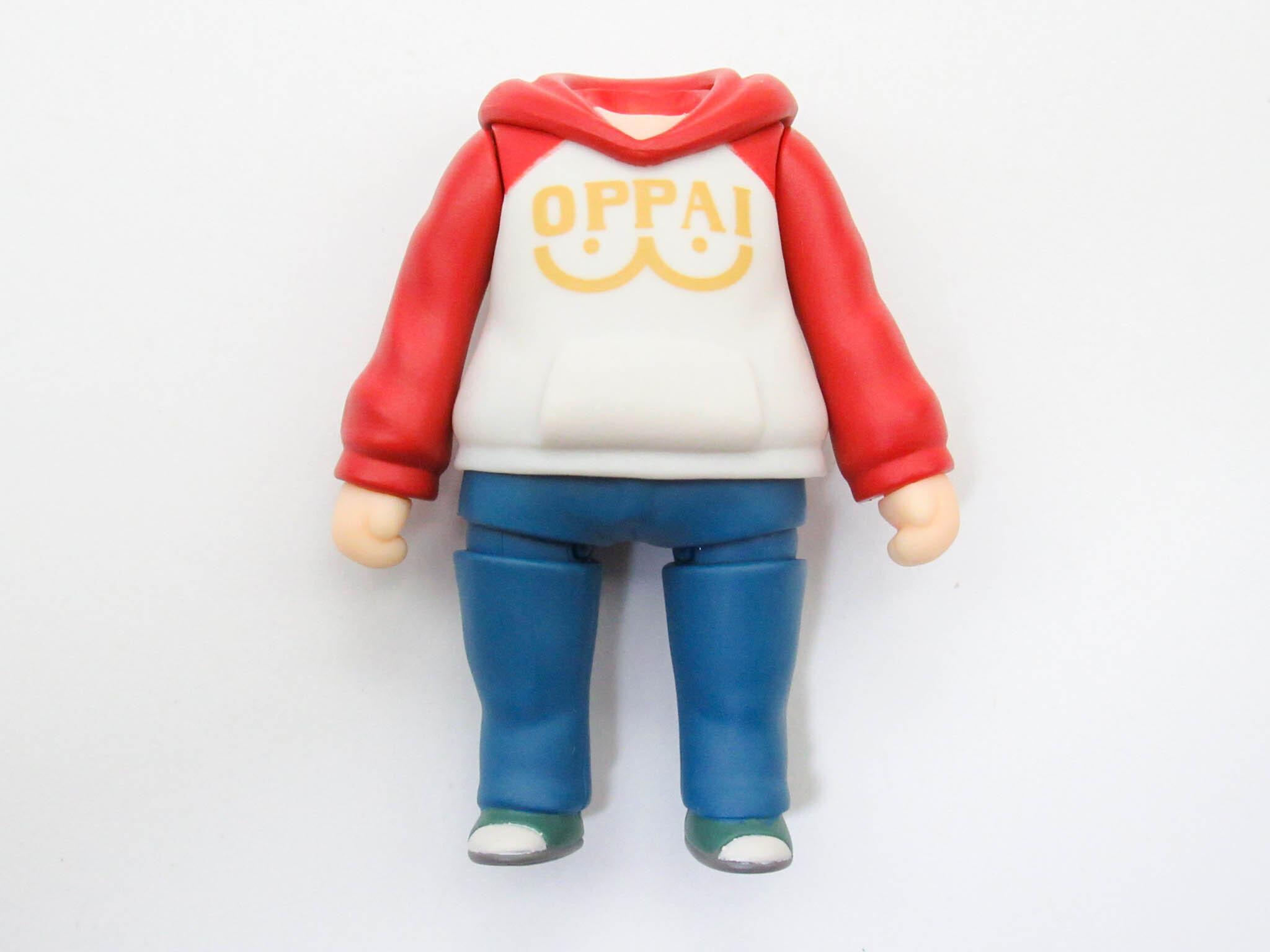 【1081】 サイタマ OPPAI パーカーVer. 体パーツ 私服 ねんどろいど