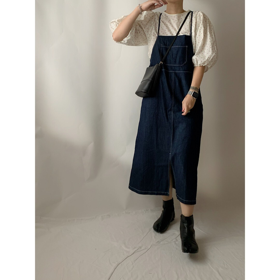 【asyu】daily jumper skirt