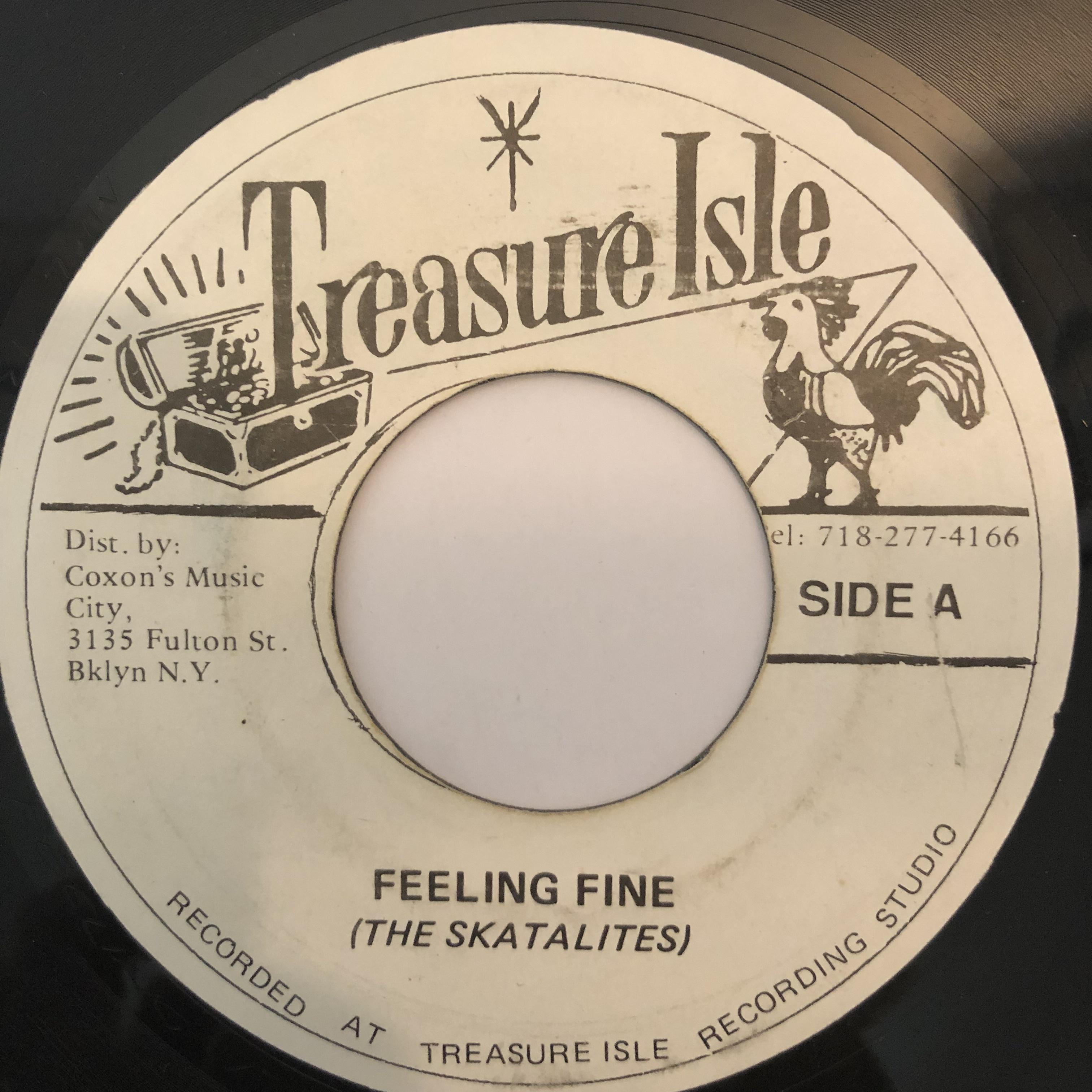 The Skatalites(スカタライツ) - Feeling Fine【7-20248】