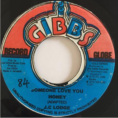 J.C Lodge(ジェーシーロッジ) - Someone Loves You Honey【7'】