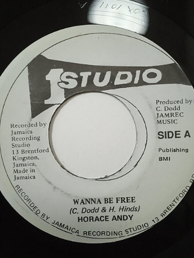 Horace Andy (ホレス・アンディ) - Wanna Be Free【7'】