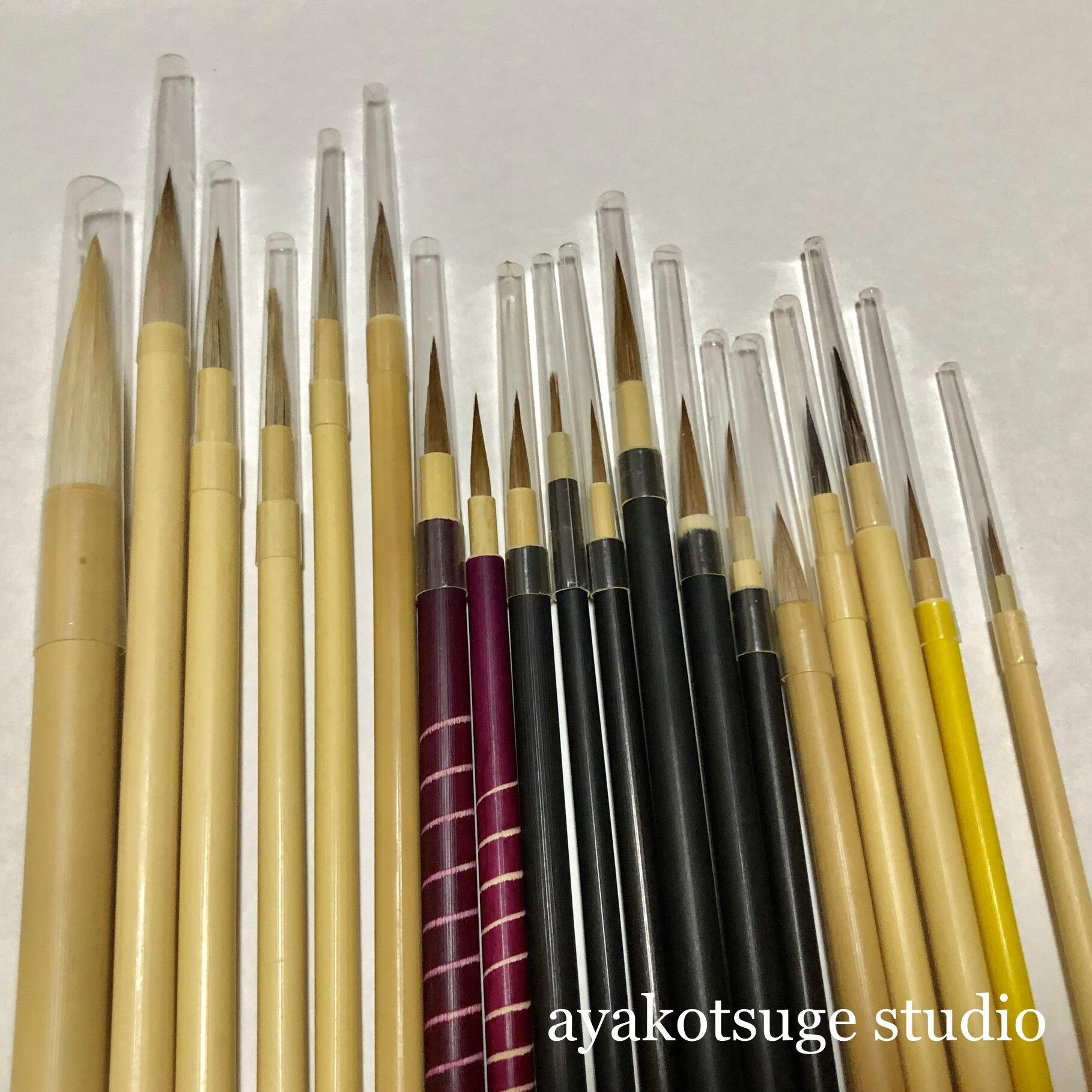 日本の筆ポストカード8枚付き 福袋