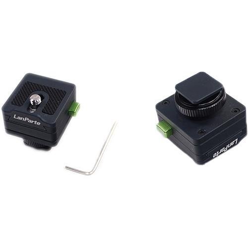 Lanparte社・ MQR-04・ モニタークイックリリースアダプター(シューマウント一体型)