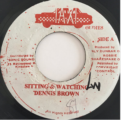 Dennis Brown (デニスブラウン) - Sitting And Watching【7'】