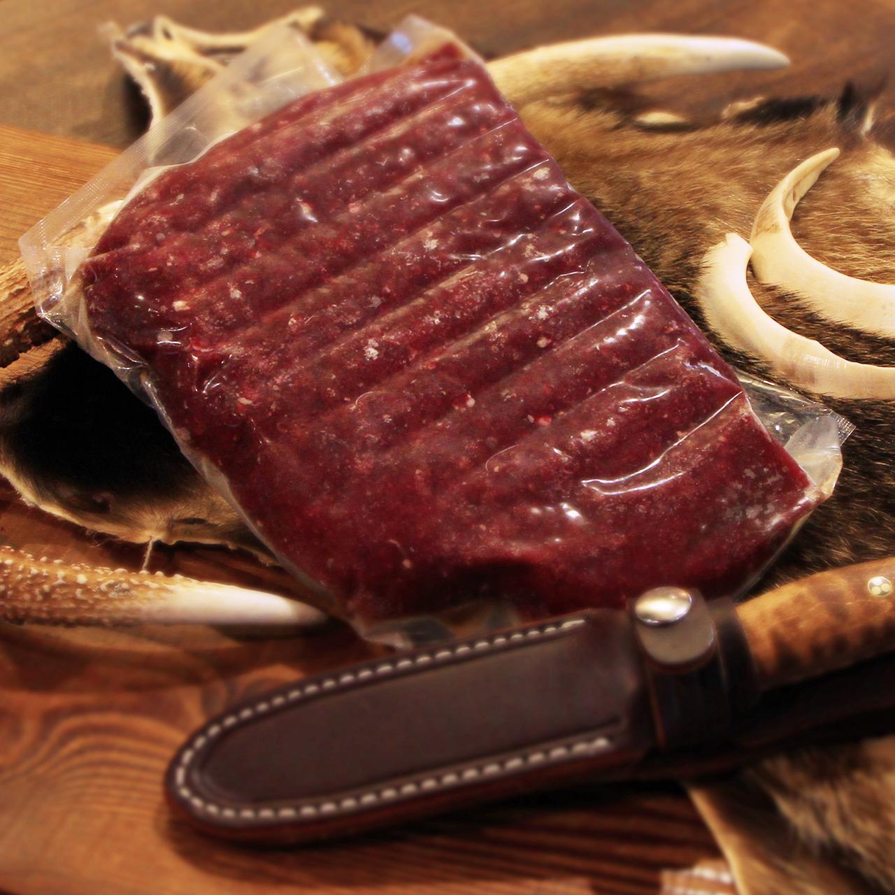 鹿 ミンチ生肉(約500g)