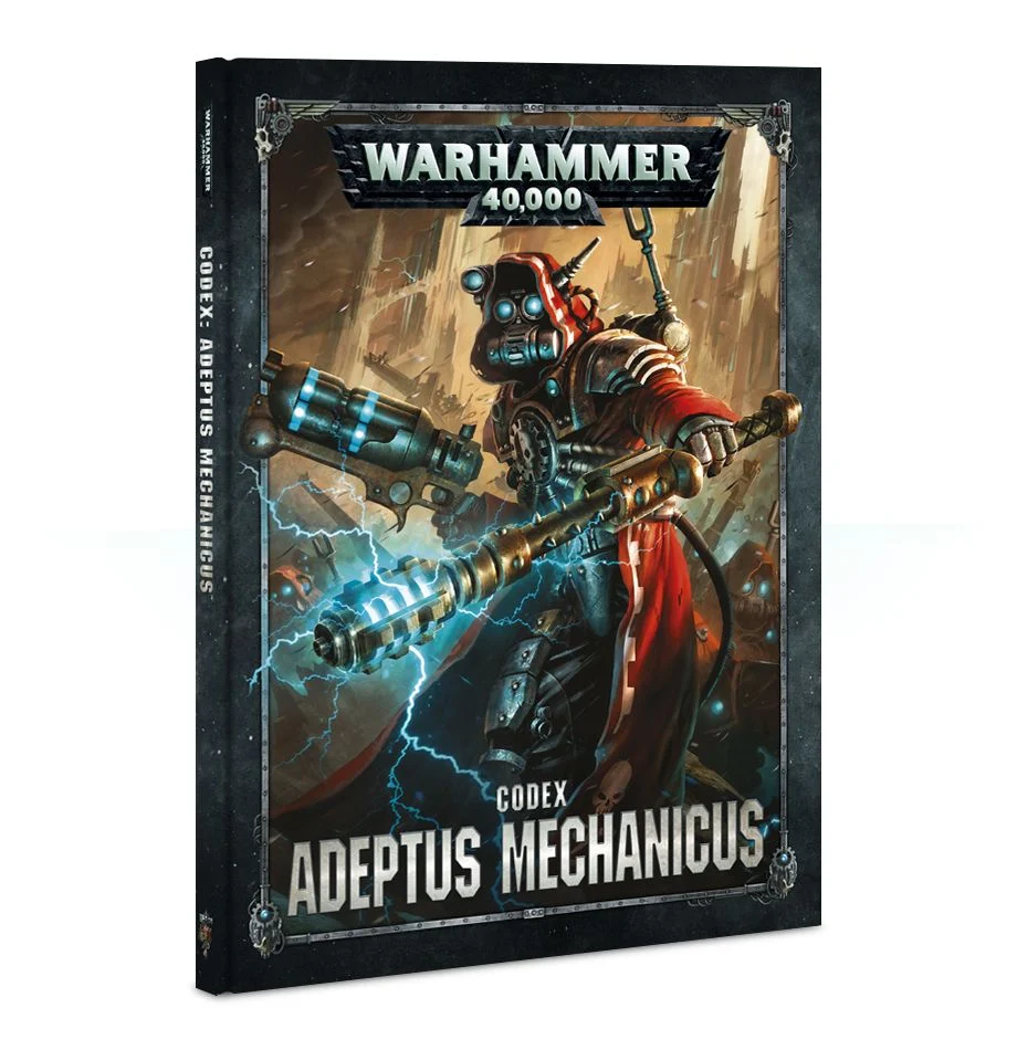 【20%OFF!】Codex: Adeptus Mechanicus(英語版・8版)
