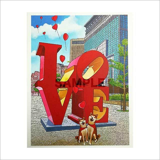 台湾ポストカード 「Forever Love」