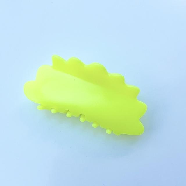 """Chunks """"Large Matte Claws, Neon Yellow""""チャンクス バンスクリップ・ヘアピン"""