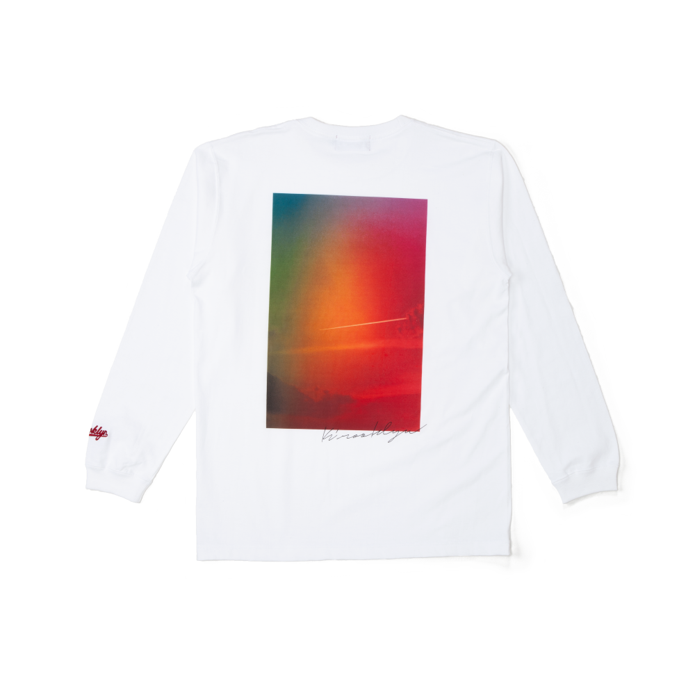 K'rooklyn Long T-Shirt × Koki Sato - White
