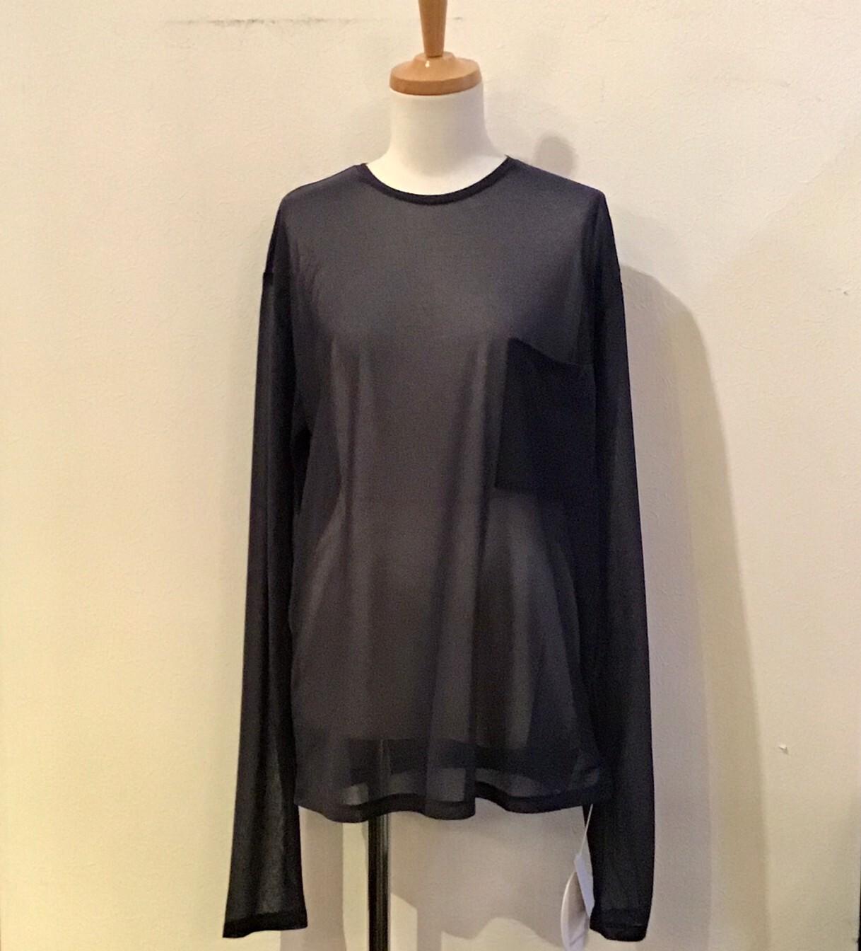 FUMIETANAKA F20A-35 print through long tshirts color black size36