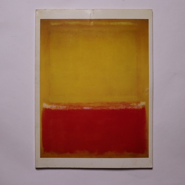 Mark Rothko, paintings, 1948-1969 / Mark Rothko; Pace Gallery.