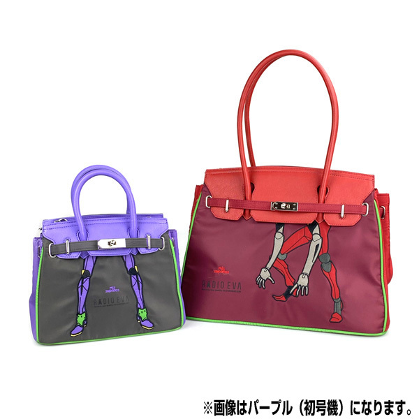 RADIO EVA 698 EVANGELION Small Boston Bag by mis zapatos /イエロー(零号機)/ EVANGELION エヴァンゲリオン