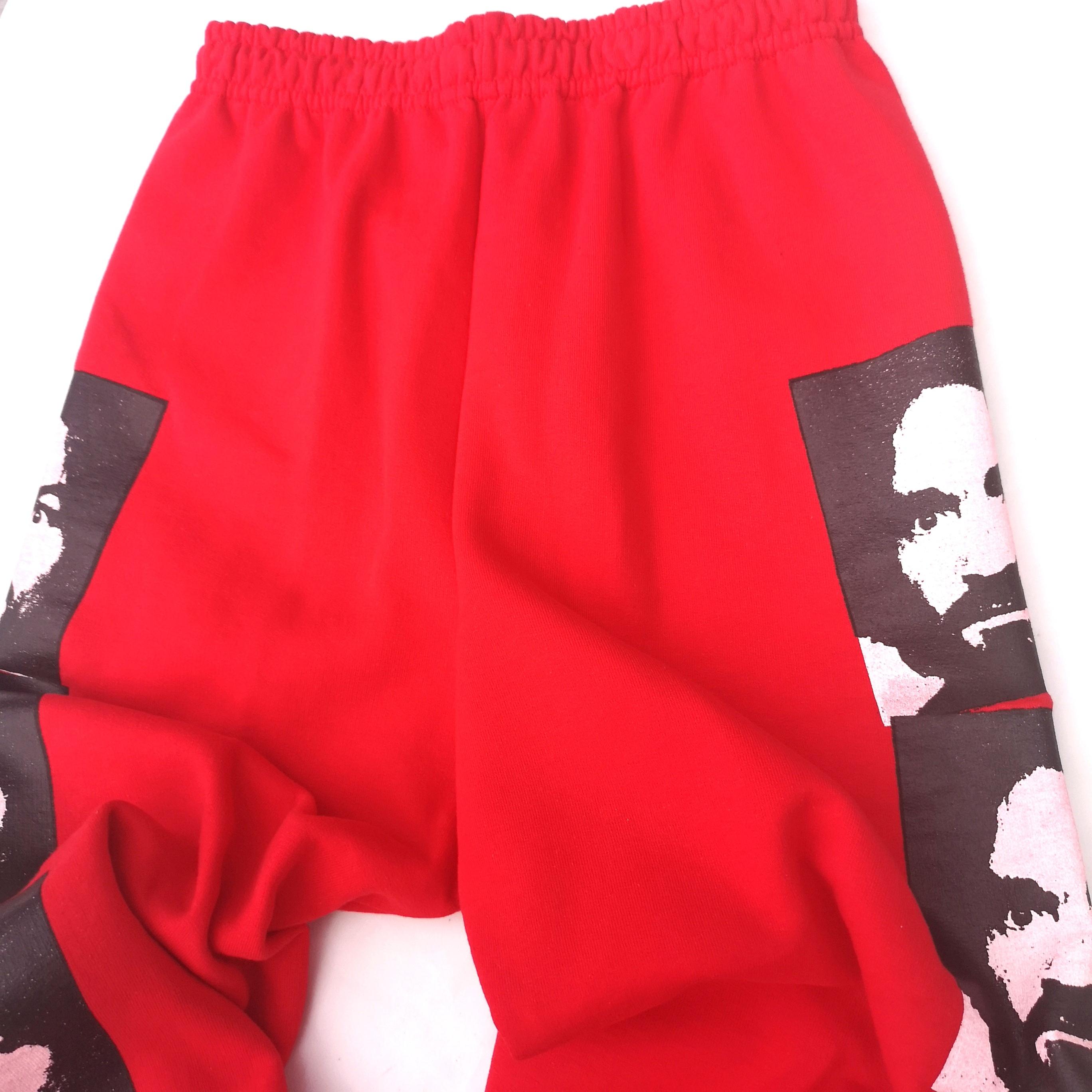       MANSON SWEAT PANTS RED