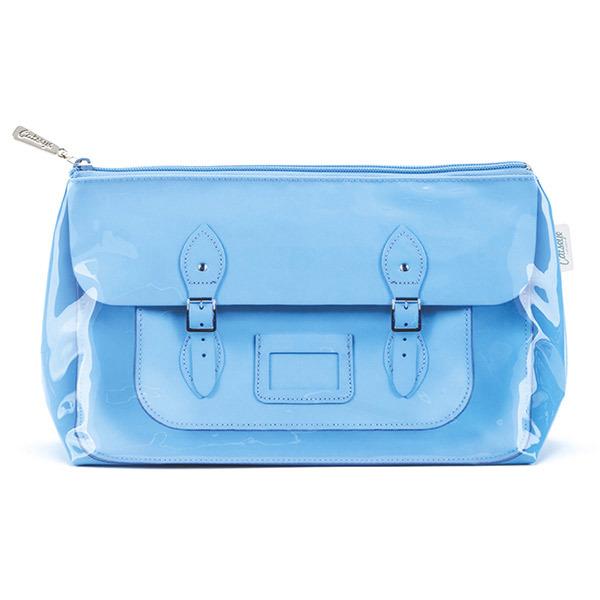 Satchel Blue Wash Bag_STB4W