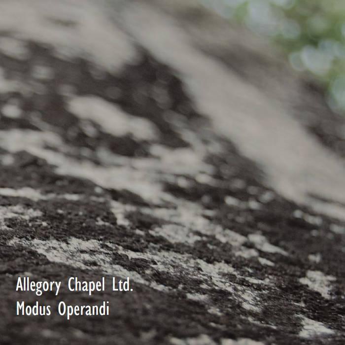 ALLEGORY CHAPEL LTD. - MODUS OPERANDI CD - 画像1