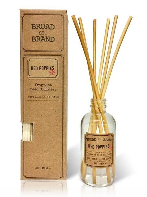 RED POPPIES REED DIFFUSER - BROAD STREET BRAND