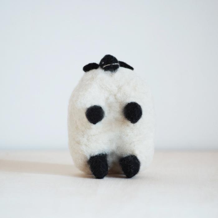 モンゴルの羊毛 もこもこひつじ