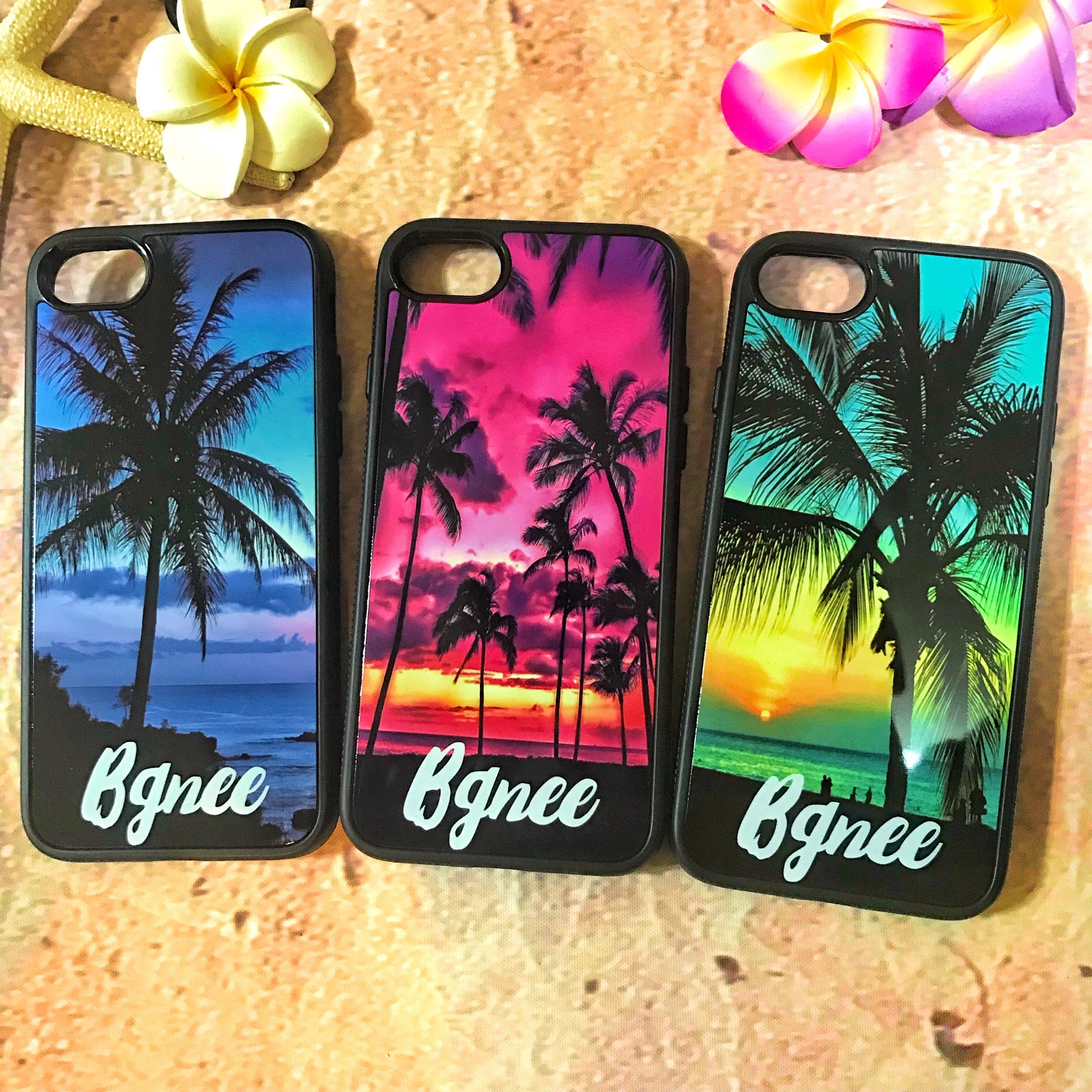 Bgnee iPhone cover case Palmtree