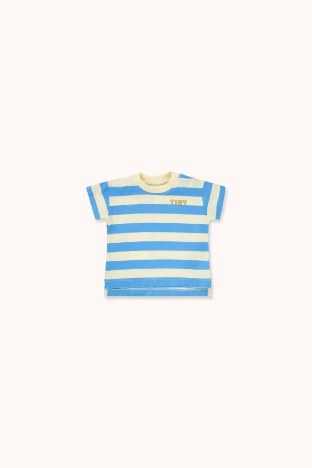 "TINYCOTTONS タイニーコットンズ ""TINY"" STRIPES TEE size:12M(80-90)"