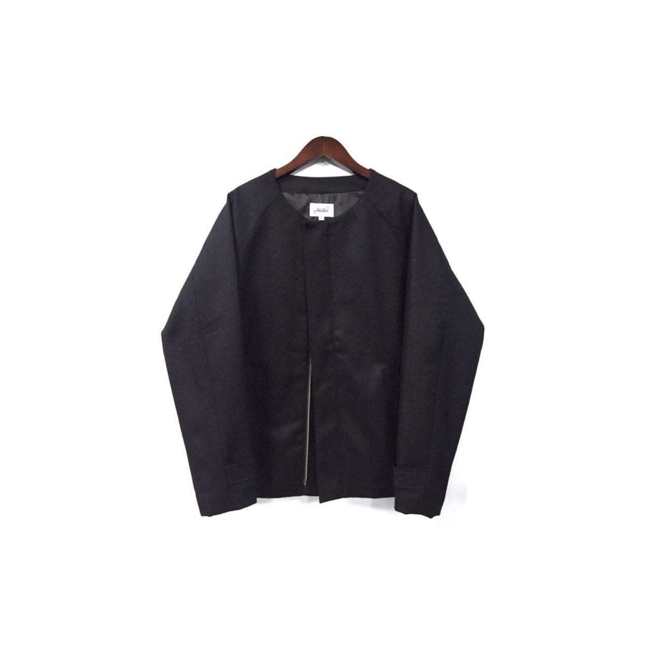 yotsuba - Nocollar Jacket / Black ¥35000+tax