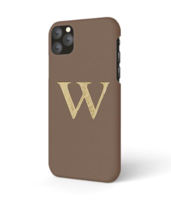 iPhone Premium Smooth Leather Case (Chocolate)