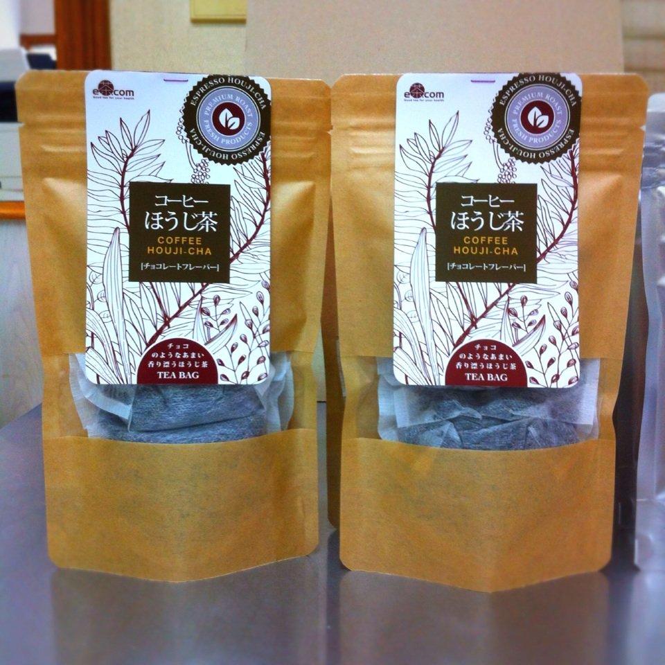 【カテキンとクロロゲン酸の働きでダイエット】コーヒーほうじ茶(10g×5個)