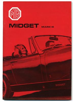 MG ミジェット MK3 ・ドライバーズ・ハンドブック・1967-72・(US)