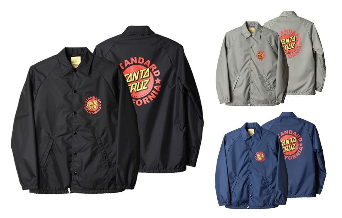 SANTA CRUZ × SD サンタクルーズ×スタンダードカリフォルニア コラボ Coach Jacket Type 2 コーチジャケット