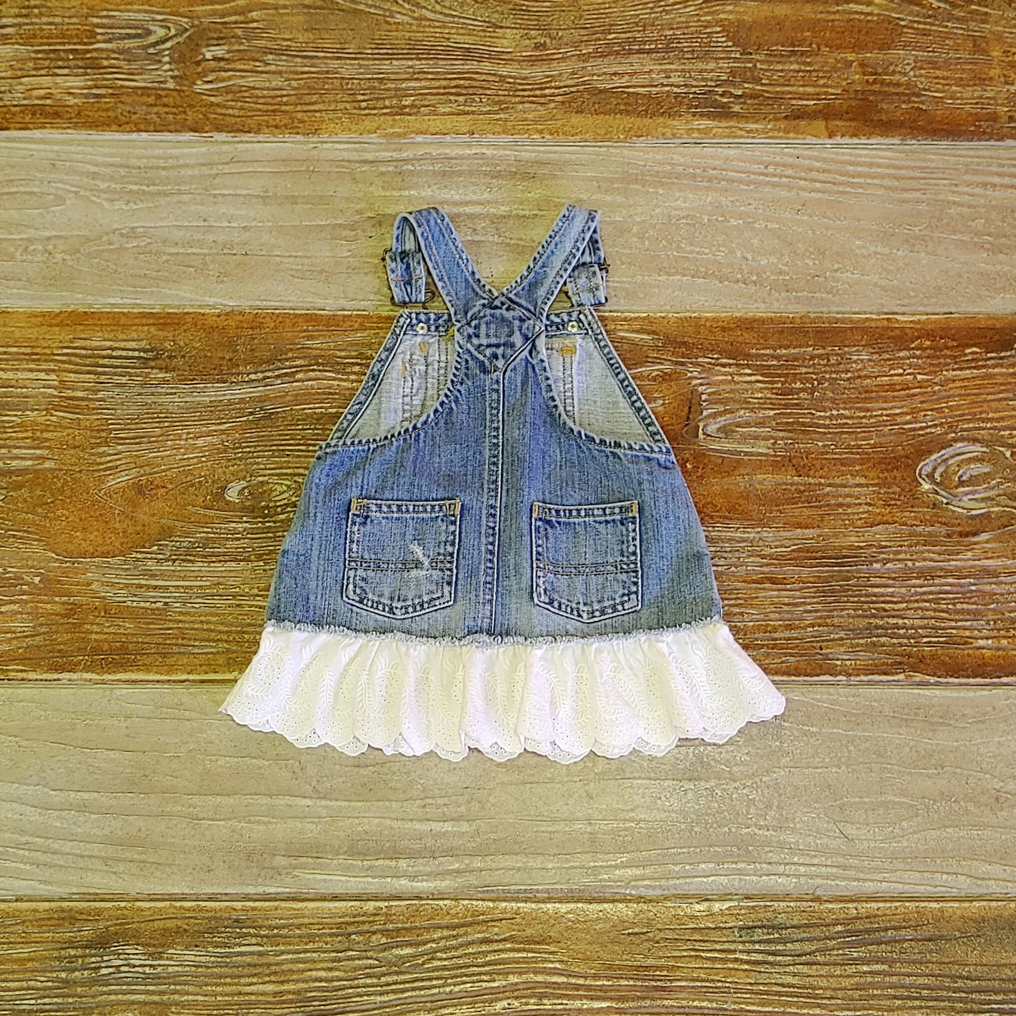 【KIDS USED】Ralph Lauren Overall Skirt*24M