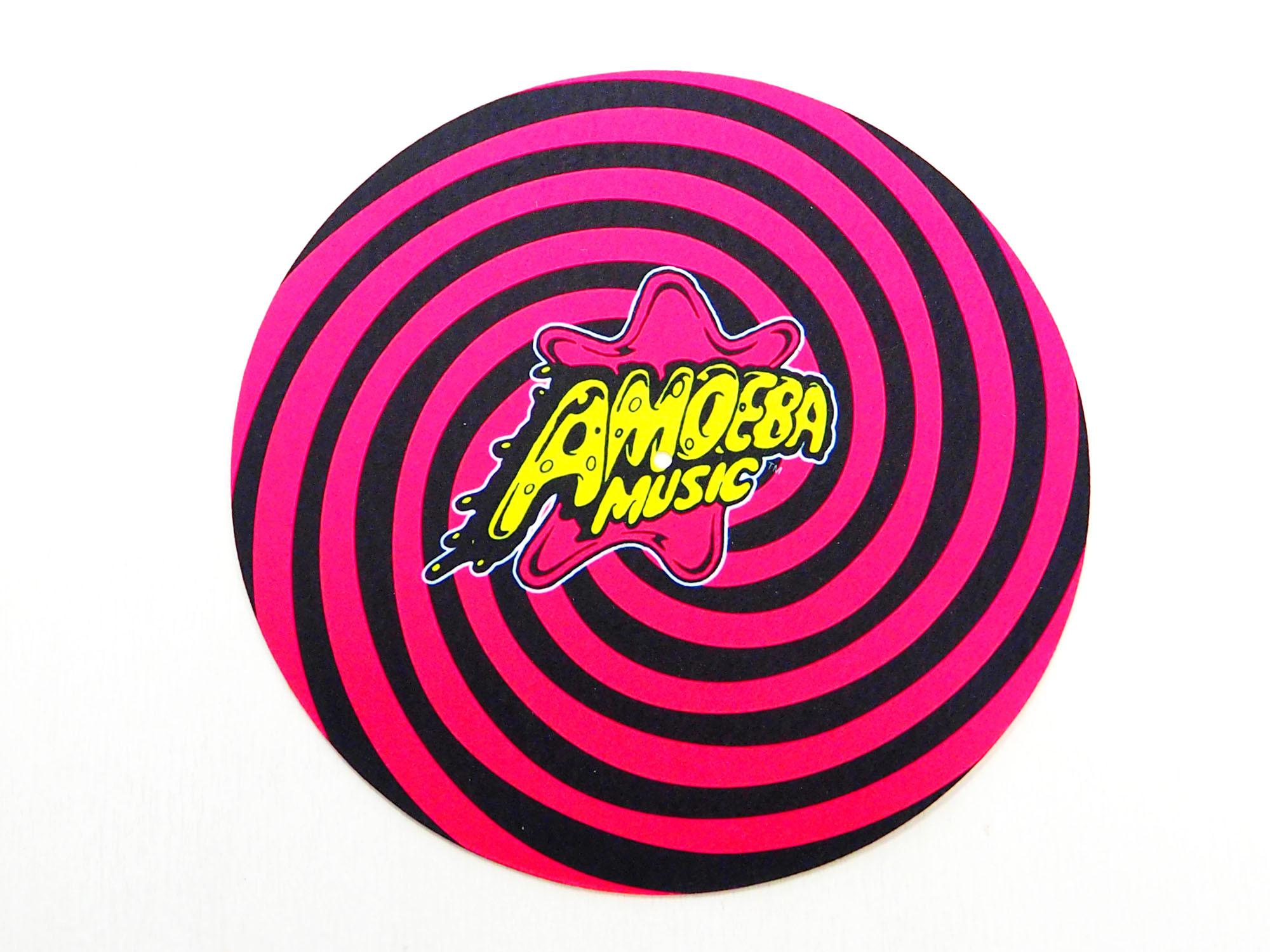 品番0165 Amoeba Music アメーバミュージック ロゴ入り スリップマット 正規品 DJ機材 レコード機材 新品雑貨
