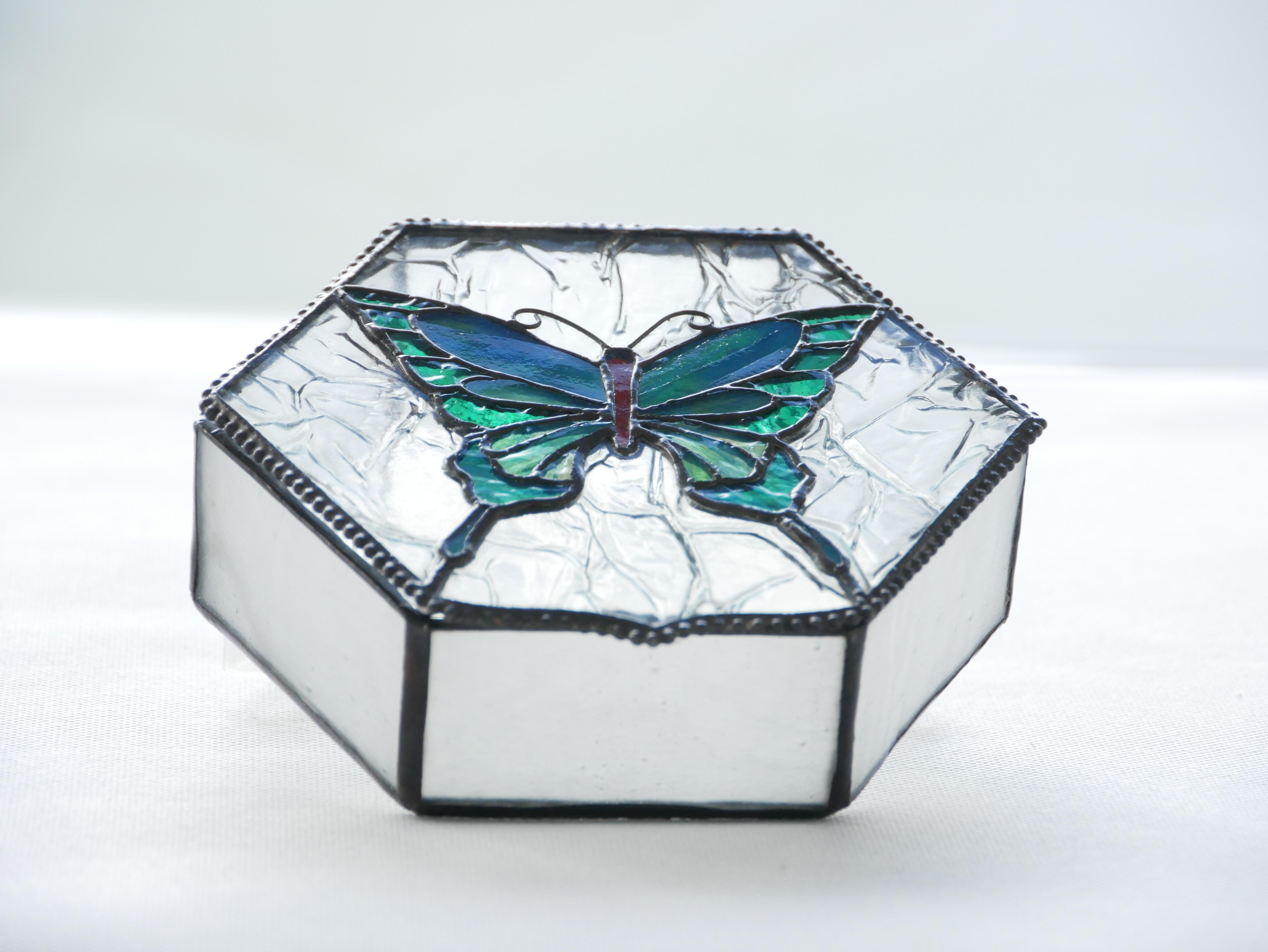 ジュエリーボックス(蝶)