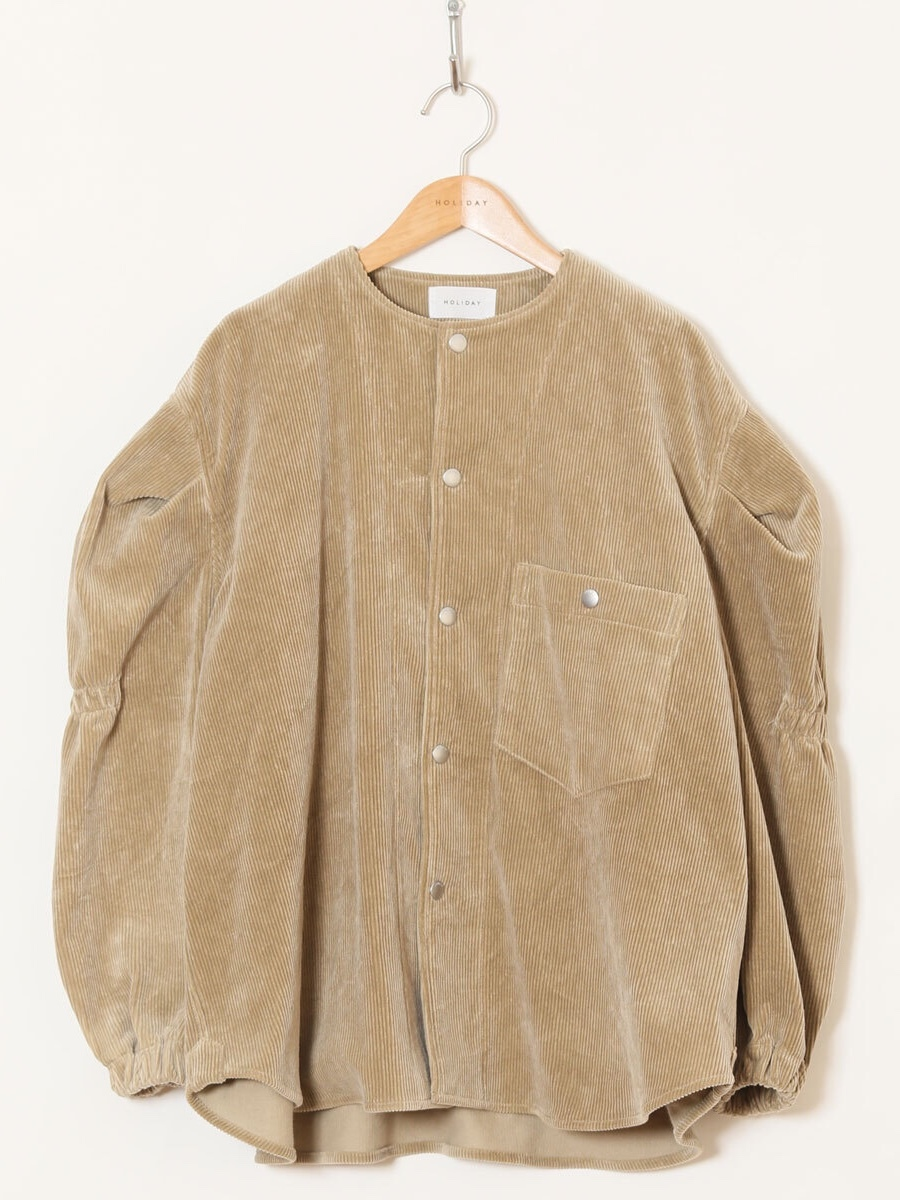 【HOLIDAY】CORDUROY JACKET