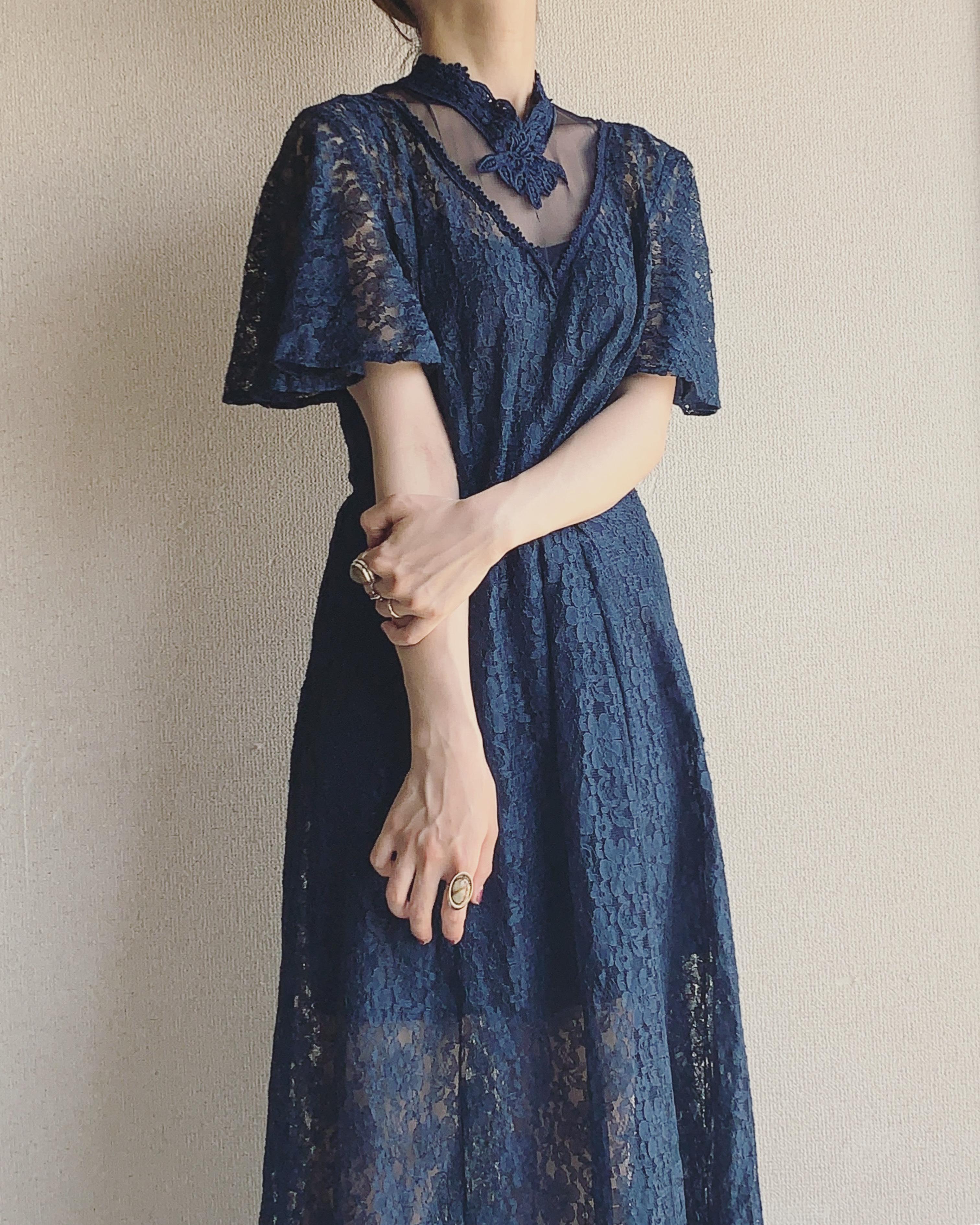 vintage lace design onepiece