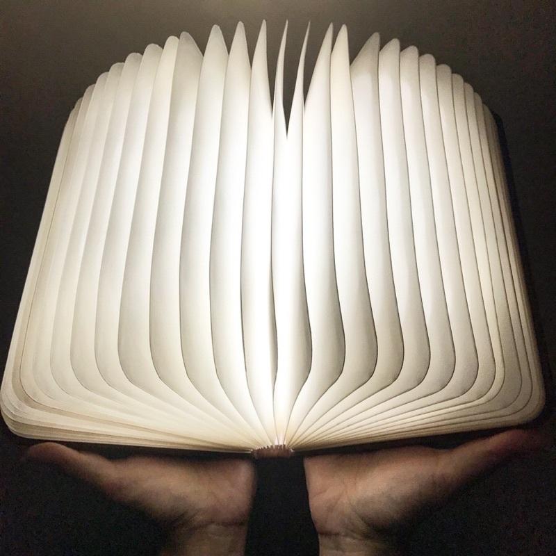 魔法の本 大 ブックライト 本のライト 5色LED