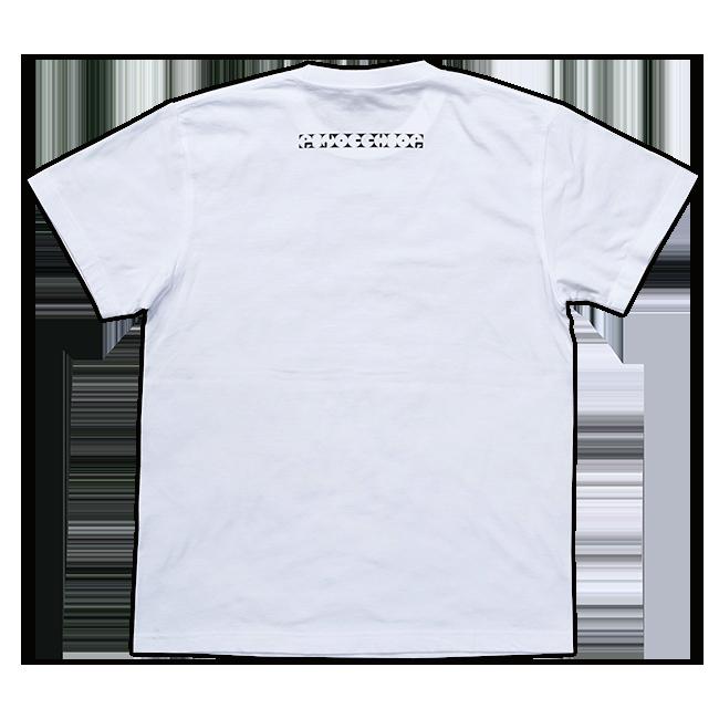 ピノキオピー 意味不明Tシャツ(メンズ / ホワイト) - 画像2