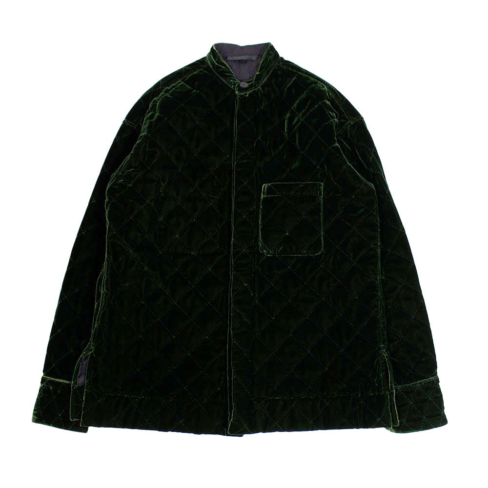 HAIDER ACKERMANN Velour Quilted Jacket