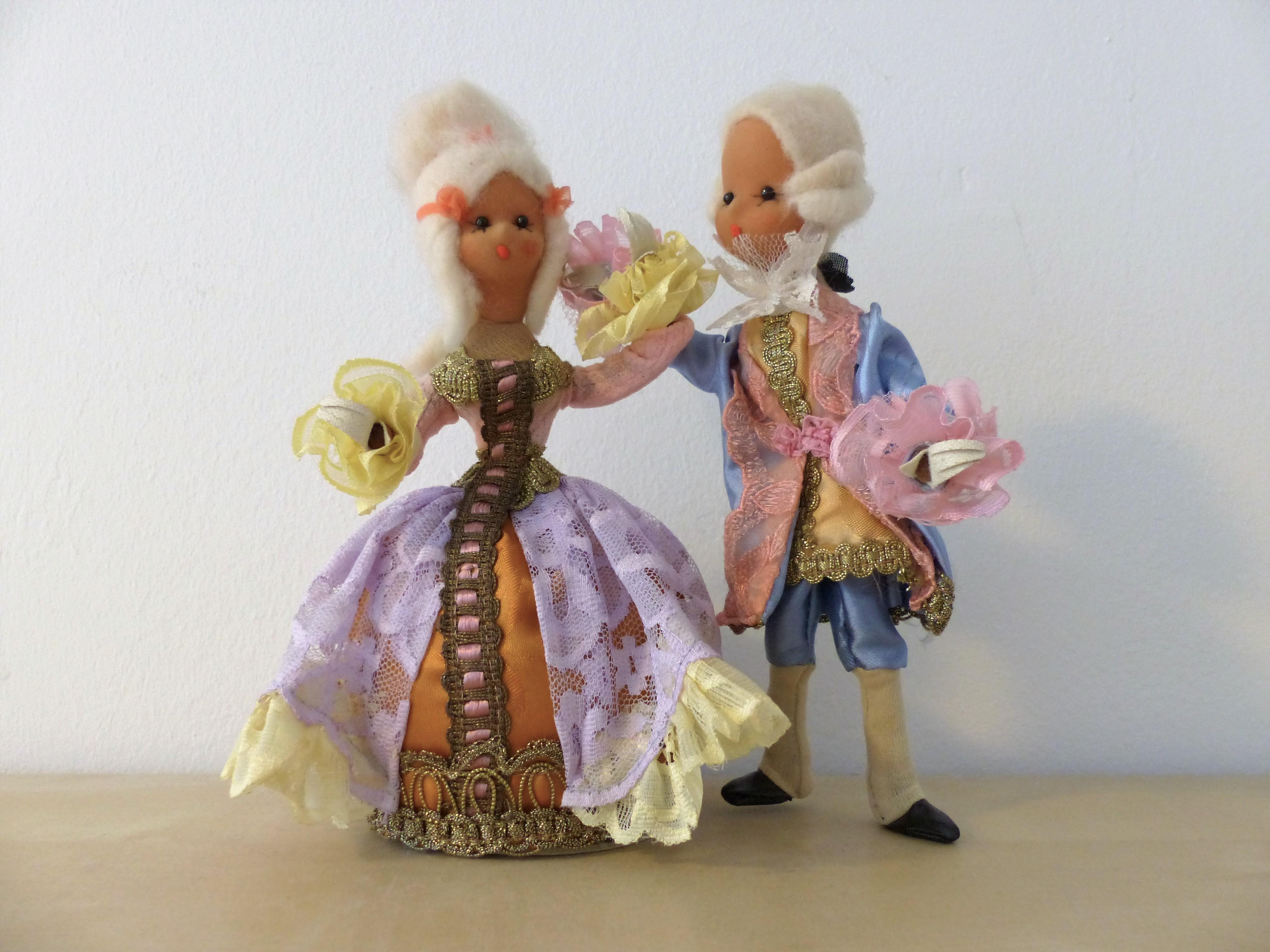 ポーズ人形(お姫様と王子様)