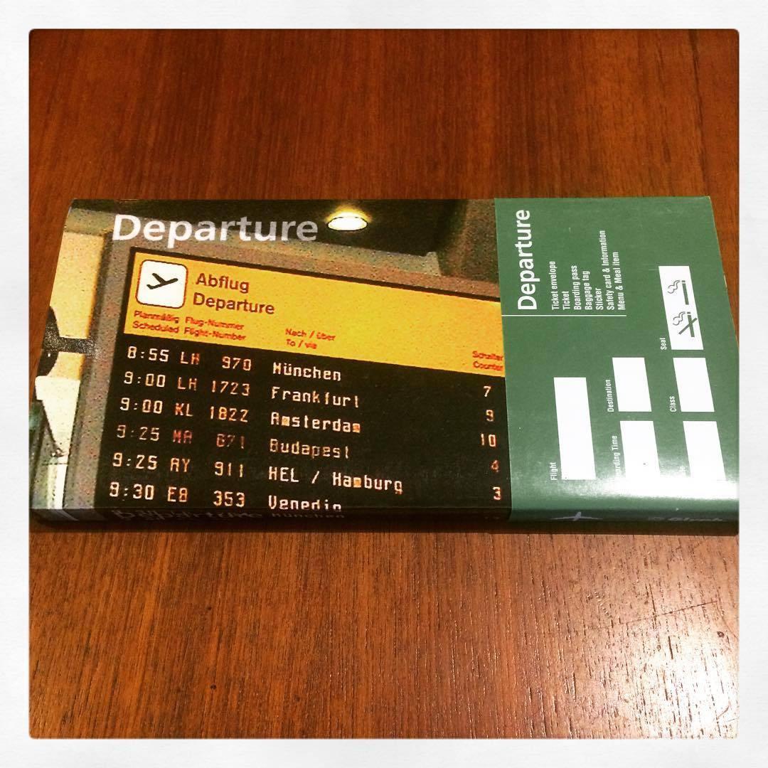 航空会社グラフィックデザイン集「Departure/Glyph」 柳本浩市 - 画像1
