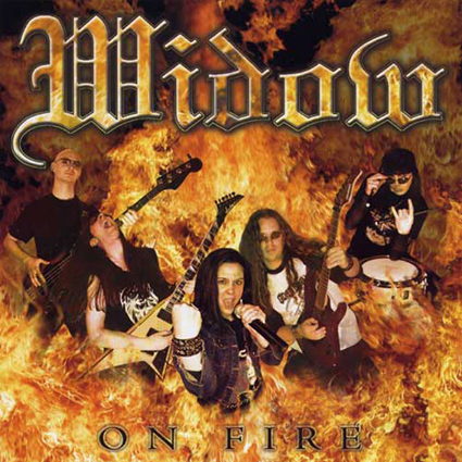 "WIDOW ""On Fire""日本盤"