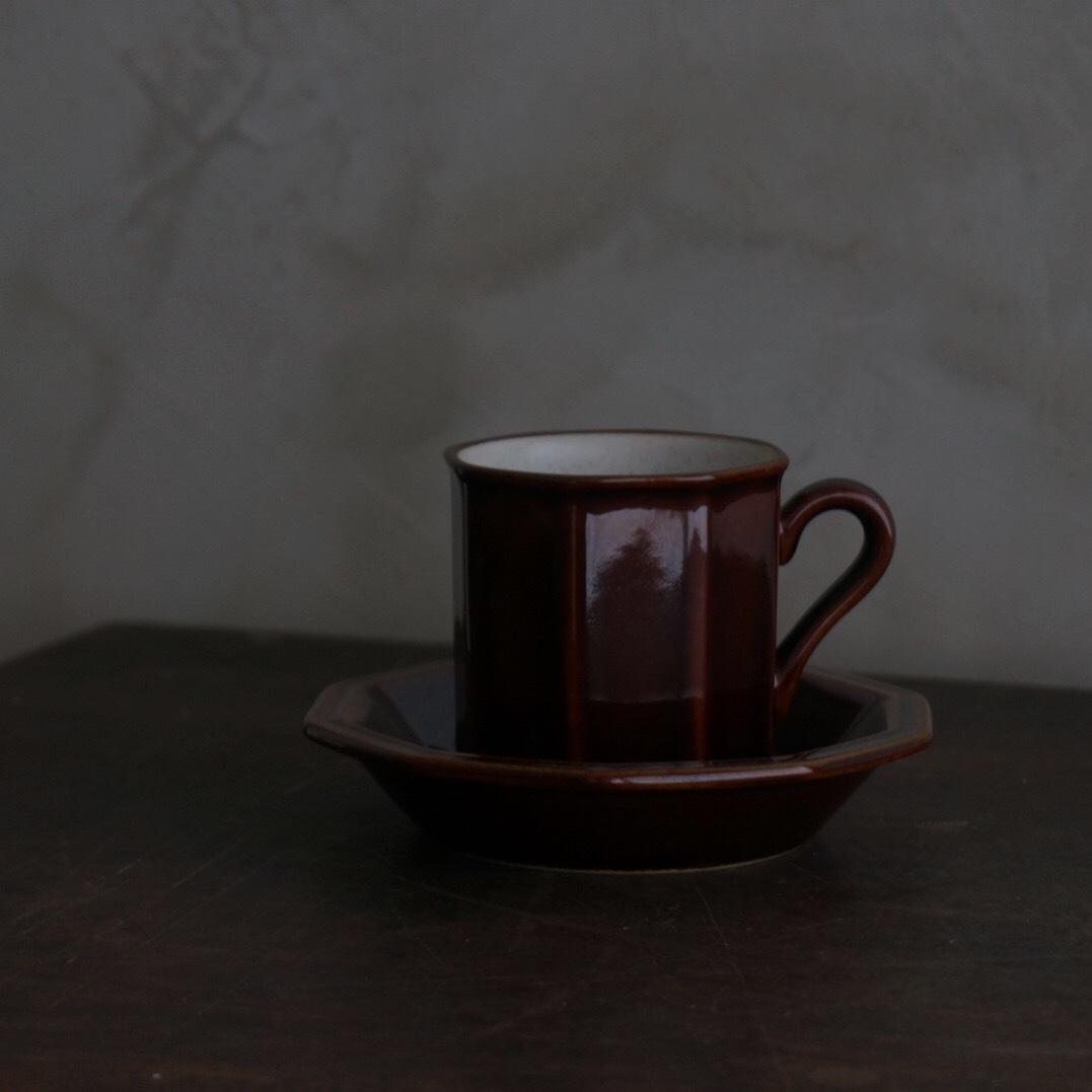 古い国産のコーヒーカップ
