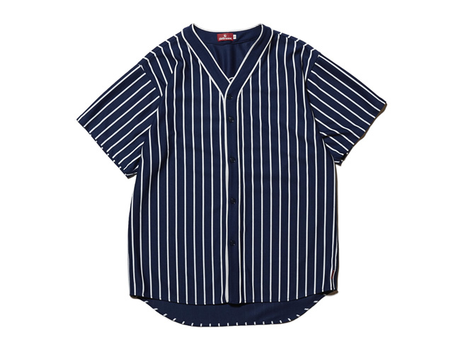 HELLRAZOR|SUCKS MESH BASEBALL SHIRT - NAVY