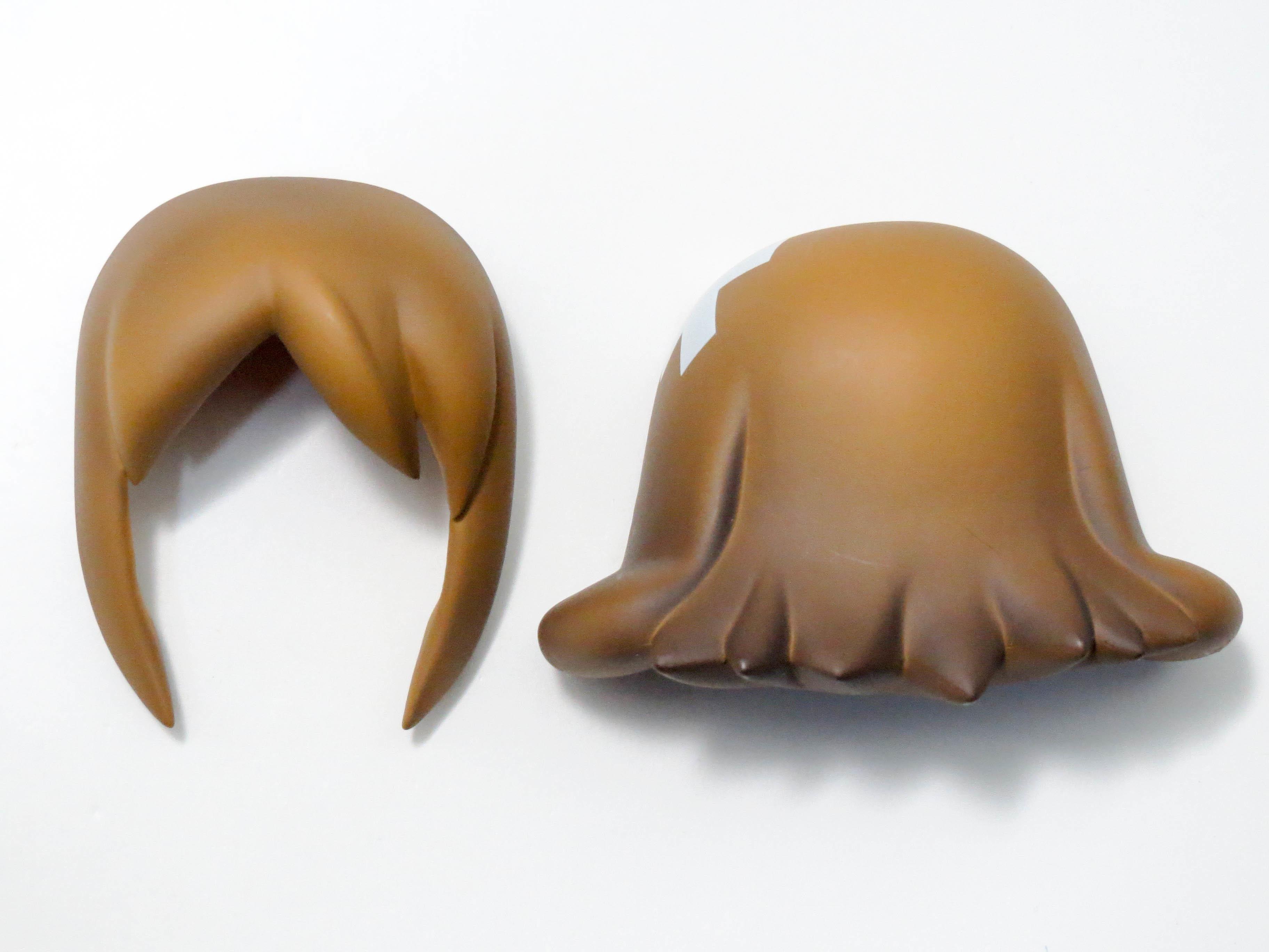【196】 砂漠のあーみーさん 髪パーツ セミロング ねんどろいど
